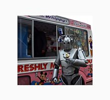 Cyberman with ice cream Unisex T-Shirt