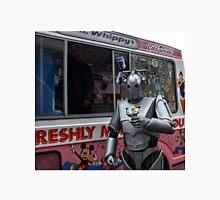 Cyberman with ice cream Unisex T-Shirt