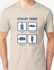 Pinoy Street Food Icons T-Shirt