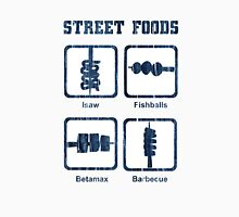 Pinoy Street Food Icons Men's Baseball ¾ T-Shirt