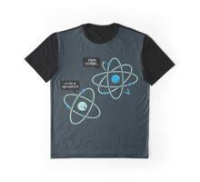 Negative Atom Graphic T-Shirt