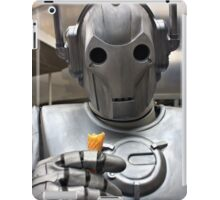 Cyberman with ice cream cone iPad Case/Skin
