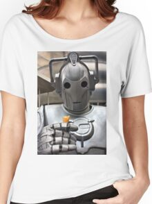 Cyberman with ice cream cone Women's Relaxed Fit T-Shirt