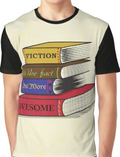 Fiction Is Awesome Graphic T-Shirt