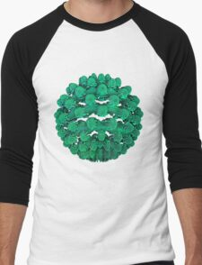 Coral Ball Men's Baseball ¾ T-Shirt