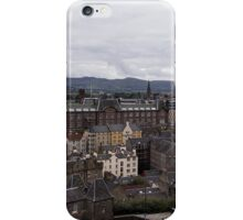 View From Edinburgh Castle iPhone Case/Skin