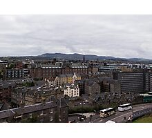 View From Edinburgh Castle Photographic Print