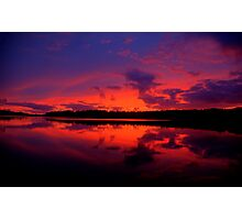 Sunrise Serenade - Narrabeen Lakes, Sydney Australia - The HDR Experience Photographic Print