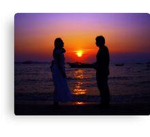 Love you...! Canvas Print