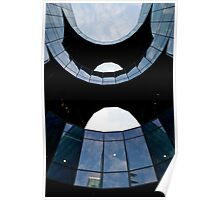 london southbank Building Abstract Poster