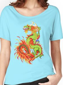Flaming Dragon Women's Relaxed Fit T-Shirt