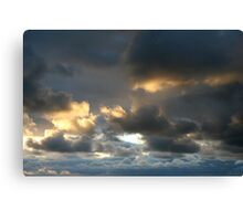 Silver Lining 3 Canvas Print