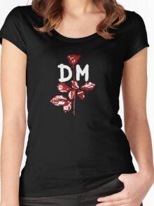 DM : Violator Women's Fitted Scoop T-Shirt