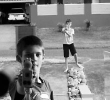 Nerf Guns by Samantha Robinson