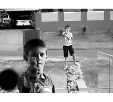 Nerf Guns Photographic Print