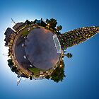 Bendigo Christmas Tree - Little Planet by Marcus Mawby