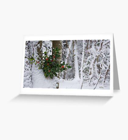 Hiver Greeting Card