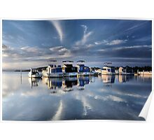 Blue Afternoon - Swansea NSW Australia Poster