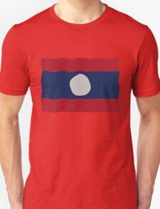 Laos flag Unisex T-Shirt