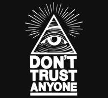 Don't Trust Anyone Baby Tee