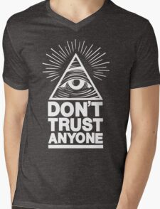 Don't Trust Anyone Mens V-Neck T-Shirt