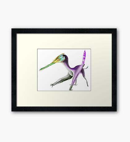 Roemer's Comb Jaw Framed Print