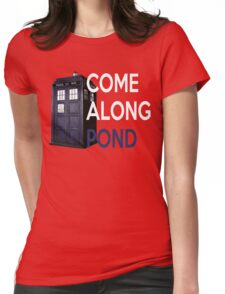 Come Along, Pond Womens Fitted T-Shirt