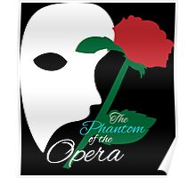 The Phantom and Rose Poster