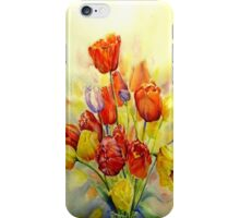 Tulip, A spring celebration iphone cover iPhone Case/Skin