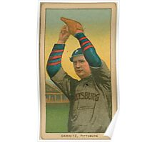 Benjamin K Edwards Collection Howie Camnitz Pittsburgh Pirates baseball card portrait 002 Poster