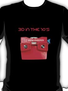 VIEWMASTER - 3D IN THE 70's T-Shirt