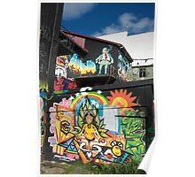 Reykjavik Graffiti I Poster