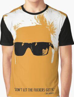 Jim Jarmusch Hair Graphic T-Shirt