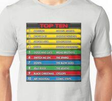 Disc Bootik Chart Unisex T-Shirt