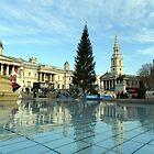 Trafalgar Square by Alison Ward