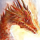 Flame Dragon by Jessica Feinberg