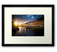 Nyhavn - Copenhaegen Framed Print