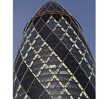 Gherkin building London  Photographic Print