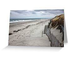 December seascape Greeting Card