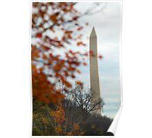 Fall Monument, Washington D.C. Poster