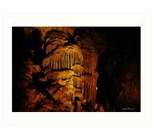 Jewel Cave, Augusta, Western Australia Art Print