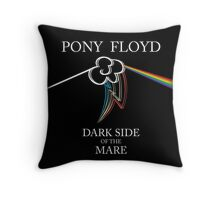 Floyd Pone - Dark Side of the Mare Throw Pillow