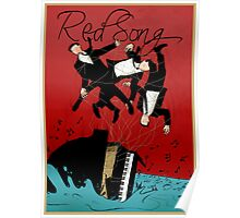 Red Song - Poster Art Poster