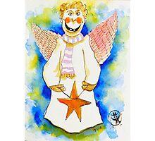 Christmas Angel Photographic Print