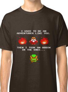 I Was An Adventurer Like You Classic T-Shirt