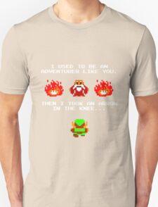 I Was An Adventurer Like You Unisex T-Shirt