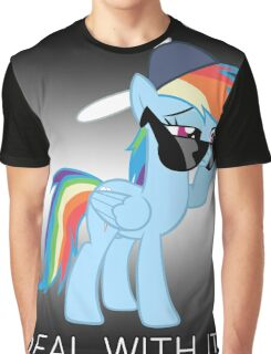 Rainbow Dash Brony Graphic T-Shirt