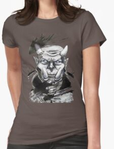 Somewhat miffed Orc Womens Fitted T-Shirt