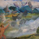 Les Oiseaux de Stymphale by AgnesZirini