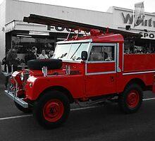 Land Rover Fire Engine by Mark Bird